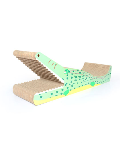Crocodile Shape Cat Scratcher