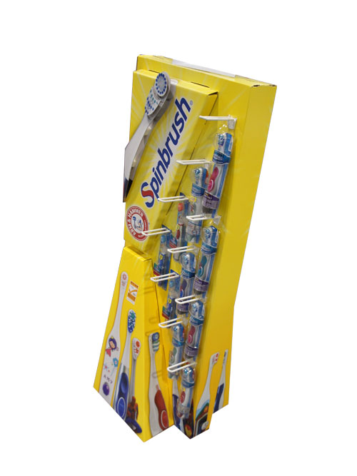Tooth Brush Hook Display
